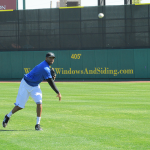 As he's pursuing a new career as a professional baseball player, former Houston Rockets basketball star Tracy McGrady practiced his pitch at Sugar Land's Constellation Field this week. The addition of McGrady could be good for the Sugar Land Skeeters' attendance numbers.