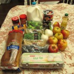 """Over the weekend, a group of students at the University of Houston wrapped up a """"Food Stamp Challenge."""" The challenge is to eat for seven days on nothing more than what can be bought on an average weekly food stamp payment. Politicians and activists have done it to make various points about what it's like to be on food assistance."""