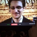 NSA leaker Edward Snowden spoke this morning to the South by Southwest Interactive festival in Austin.