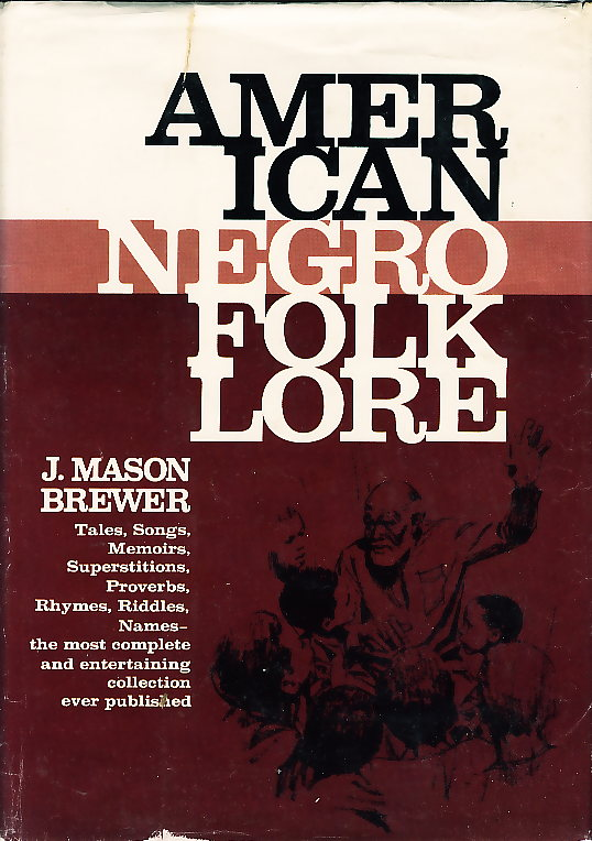 Dust jacket of American Negro Folklore