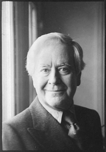 Portrait of Horton Foote by window, head and shoulder shot