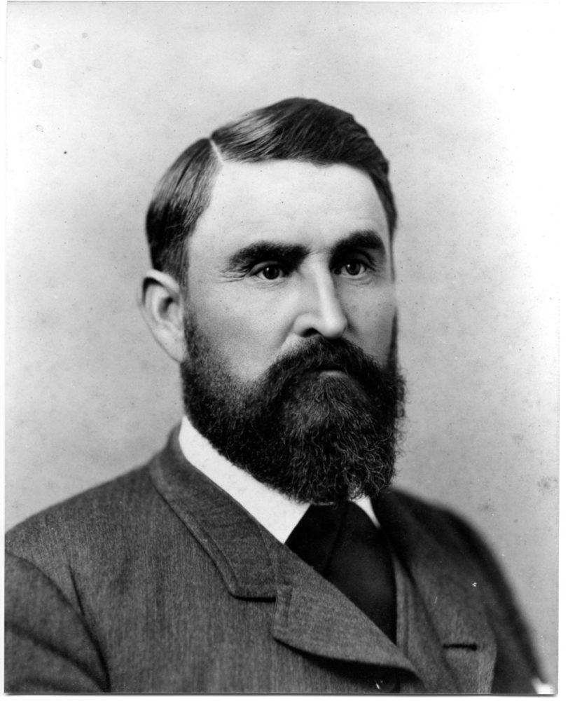 Photograph of Charles S. Goodnight, famed pioneer rancher of the Texas panhandle.