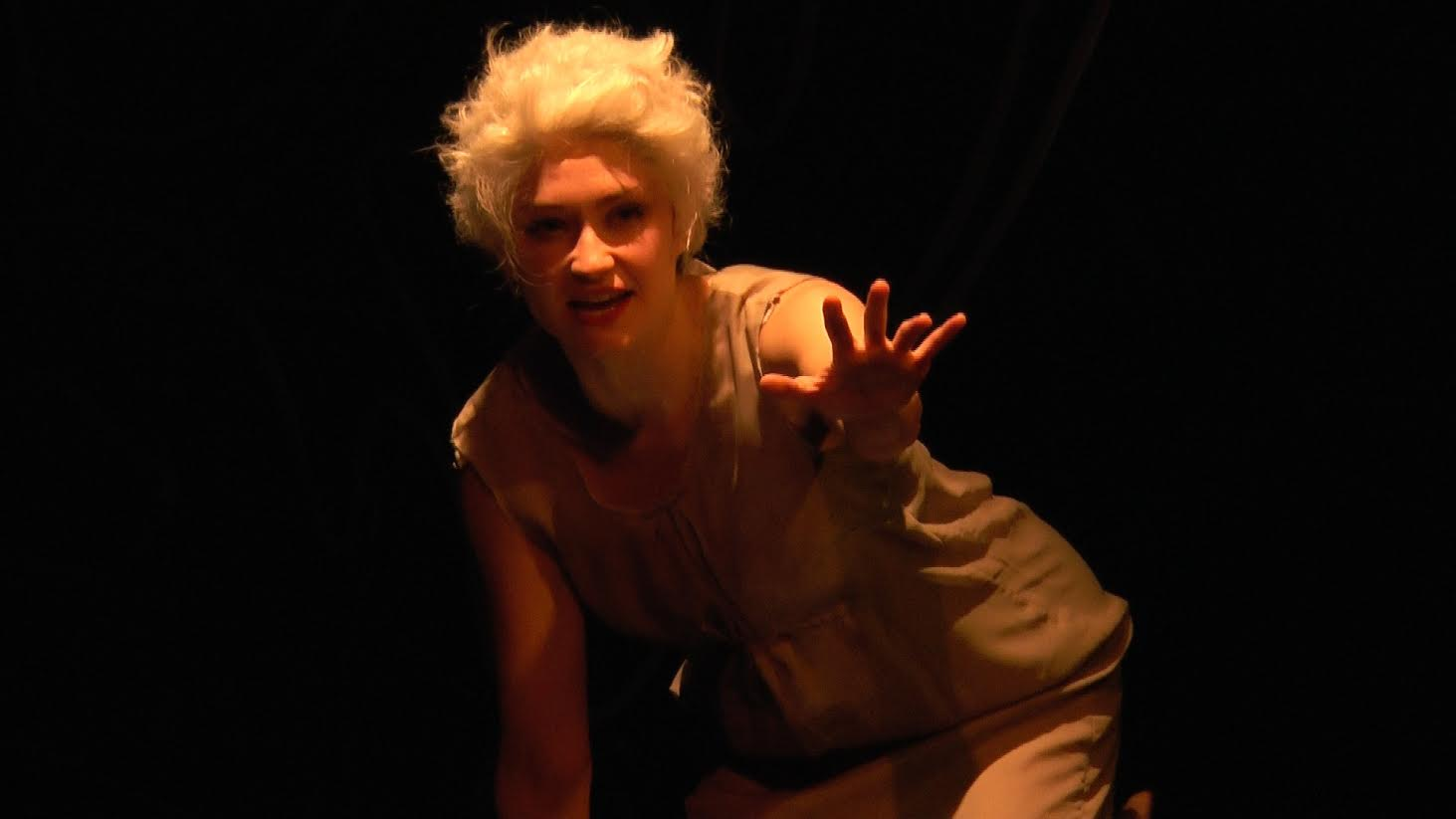 Emily Neves as Marie Antoinette.