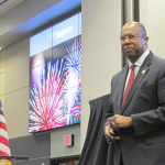 Katy superintendent celebrates two milestones at the state of the district address Friday.