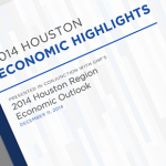 The Greater Houston Partnership's annual report shows an increase in job growth in the region from the previous year.