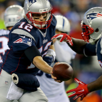 "New England Patriots quarterback Tom Brady said he didn't give the game balls a thought during Sunday's win over the Indianapolis Colts. ""I didn't alter the ball in any way,"" he said."