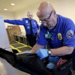"Grenades and blades were also found. In most cases, people forgot they had them. Our favorite discovery: a knife in an enchilada. The TSA said ""the passenger's intent was delicious, not malicious."""