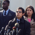 Steven Arteaga Rodriguez, 19, encourages other young immigrants to try and defer deportation with Obama's executive action.