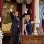 """""""It's Time,"""" Perry Says in Announcing 2016 Candidacy"""