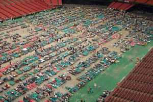 10 Years Since Katrina: When The Astrodome Was A Mass Shelter