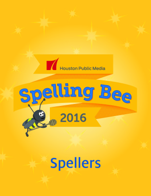 click here for information for spellers