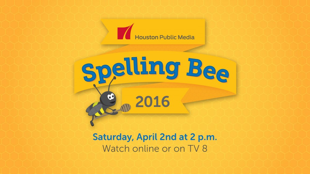 Click to Watch the Spelling Bee Live Online, April 2 at 2pm