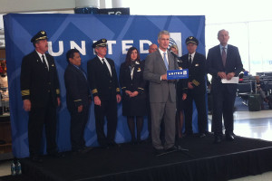 Jeff Smisek CEO chairman and president United