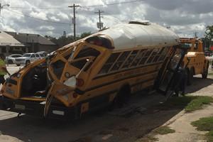 Video: 2 Students Dead, 3 Hospitalized After Houston School Bus Crash