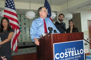 Houston Mayoral Candidate Steve Costello Pushes for Pension Reform, Tighter Spending