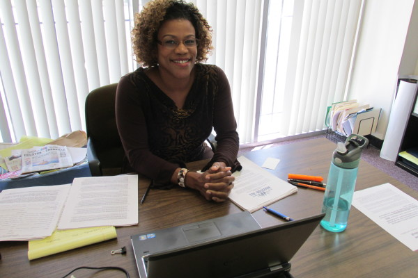 Picture of Tarsha Jackson at TOP office