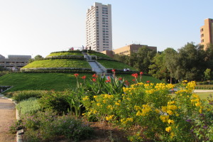The McGovern Centennial Gardens at Houston's Hermann Park.