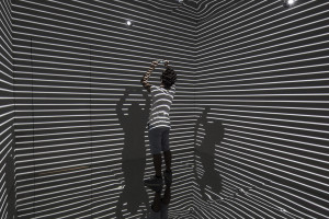 Picture of Refik Anadol's Infinity Room project