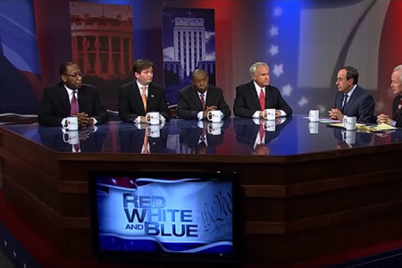 King, Turner, Hall, McVey Debate On 'Red, White and Blue'