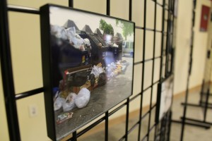 Residents of southwest Houston displayed their photographs at the Baker Ripley Neighborhood Center.