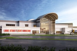 A rendering of the new facility at Ellington Field.