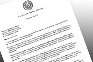 Governor Abbott's letter to President Obama