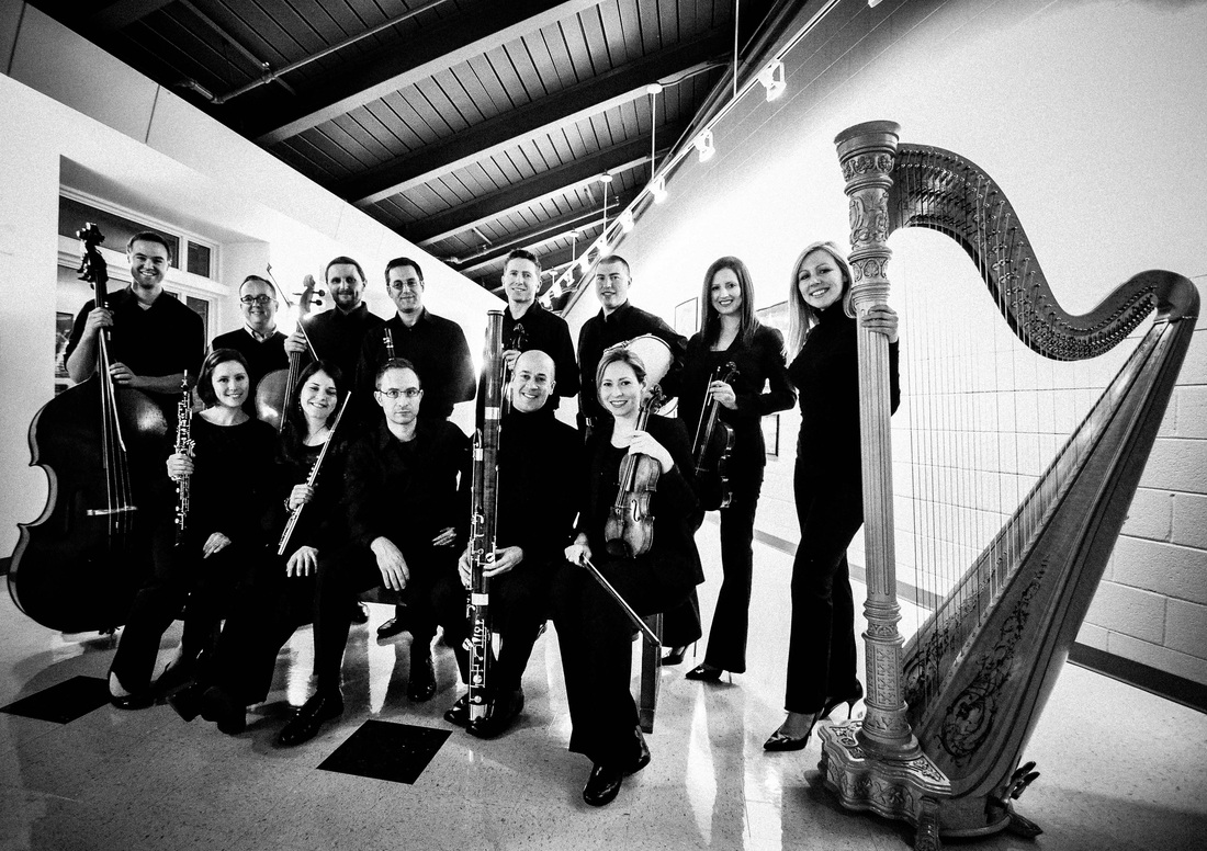 Members of Inscape Chamber Orchestra.