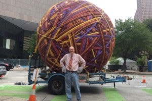 Houston Artist Makes His Thanksgiving Day Parade Debut With Whimsical Work