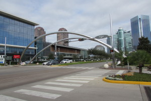 Photo of Post Oak Blvd near the Galleria