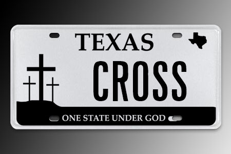 What's Okay, And Not Okay, When 'God' Shows Up On License Plates