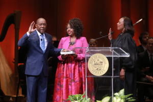 Sylvester Turner newly elected Mayor of the City of Houston