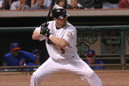 Houston Astro Jeff Bagwell Not Elected To Baseball's Hall Of Fame