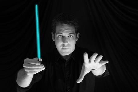 Jedi maestro, Brett Mitchell.
