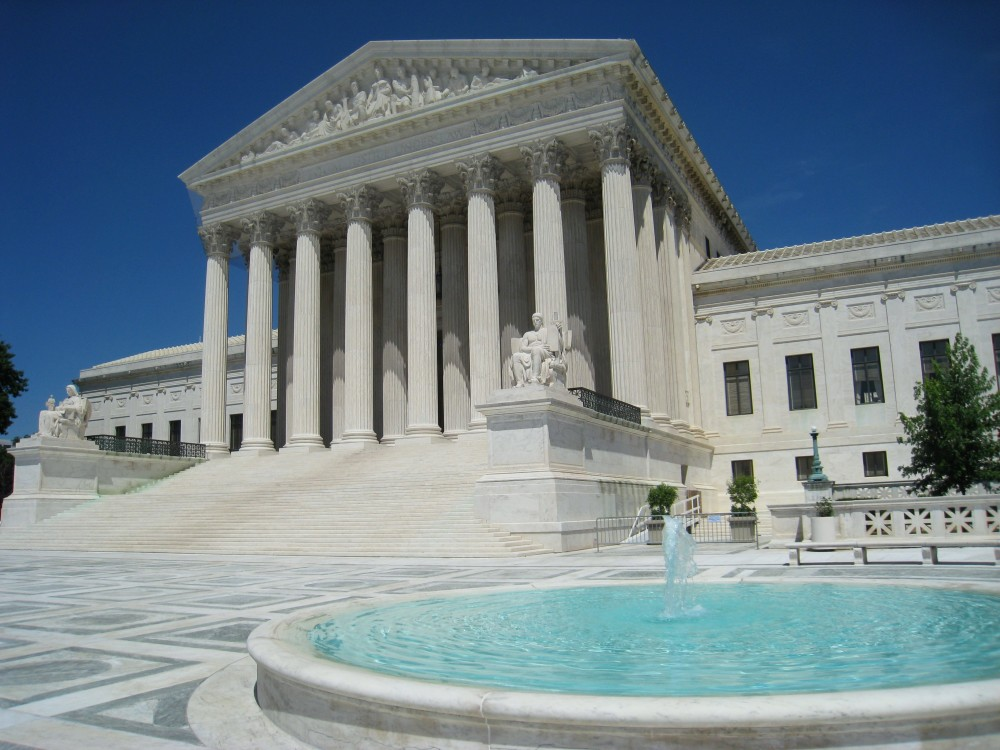 Front photo of the Supreme Court building