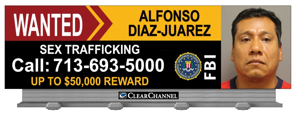 A $50,000 reward is being offered for fugitive Alfonso Diaz-Juarez.
