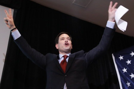 Florida Sen. Marco Rubio may have finished third, but he had a better-than-expected night thanks, in part, to larger turnout and evangelical voters.