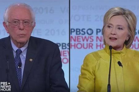 Video: PBS NewsHour Democratic Debate