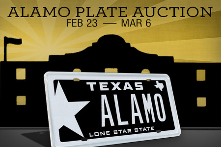 My Plates ALAMO Auction