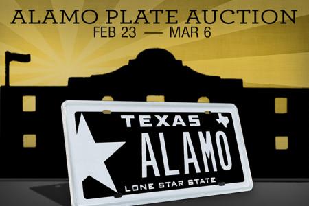 My Plates ALAMO Auction