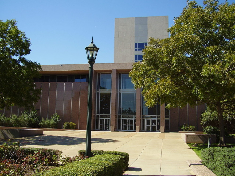 The Texas Supreme Court Building houses the Texas Court of Criminal Appeals