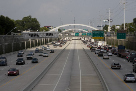 Houston US 59 HOV lane