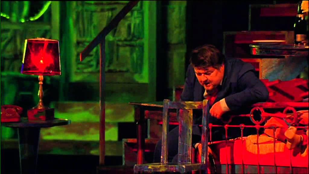 Gran Teatre del Liceu, Barcelona, production of Lulu, 2010-11