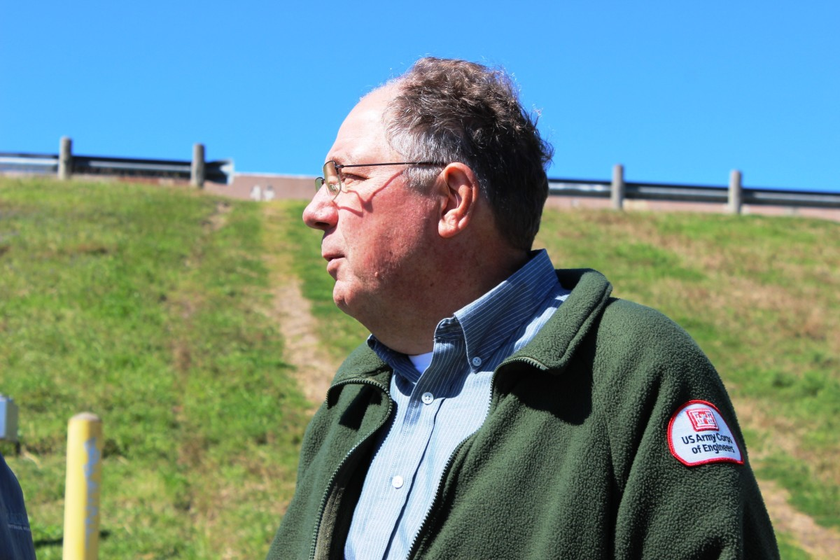 Richard Long manages the dams for the U.S. Army Corps of Engineers