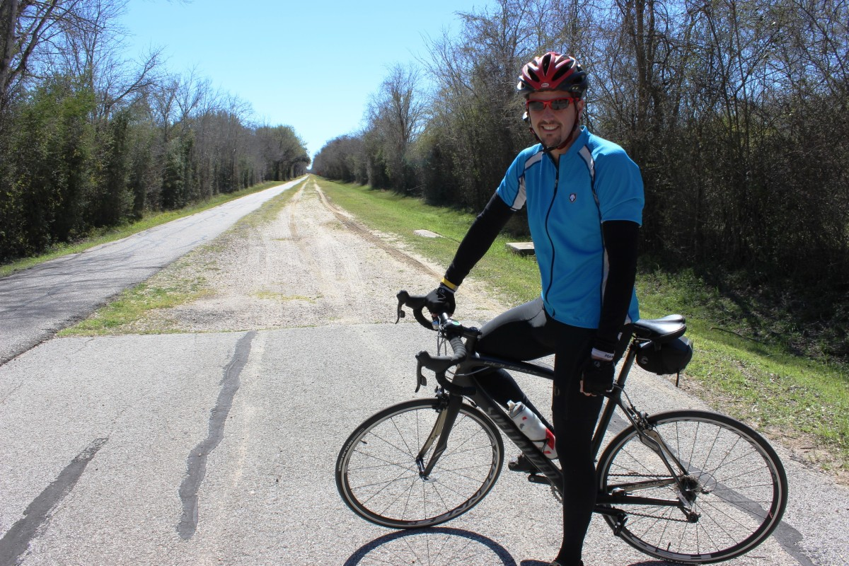 John Tucker is among thousands of cyclists, runners and walkers who use paved trails in the reservoirs' 26,000 acres