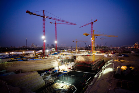 A Fluor construction site in Shuaiba, Kuwait