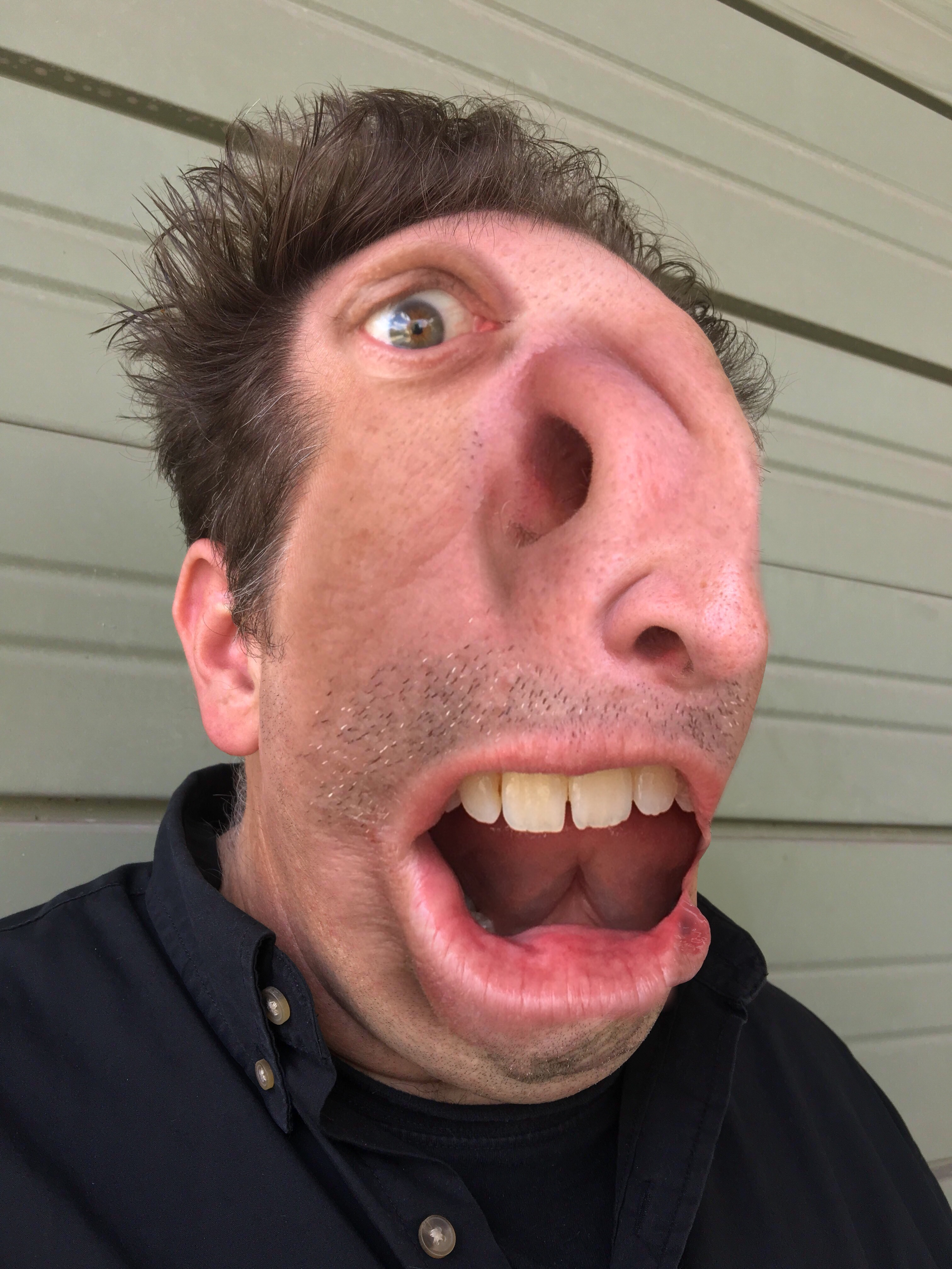 Phillip Kremer self portrait