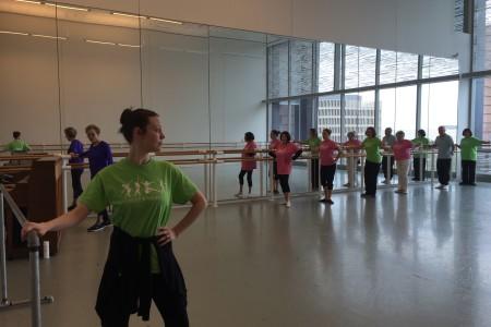 Parkinson's Patients Combat Symptoms Through Ballet