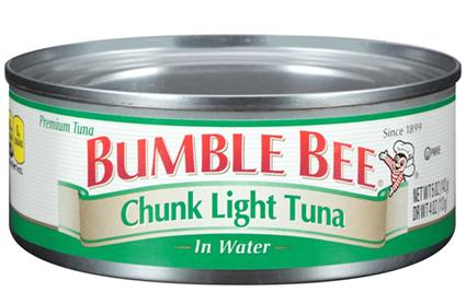 Chunk Light Tuna can
