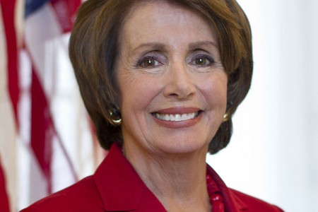Official portrait of U.S. Representative and Minority Leader Nancy Pelosi (D-CA).