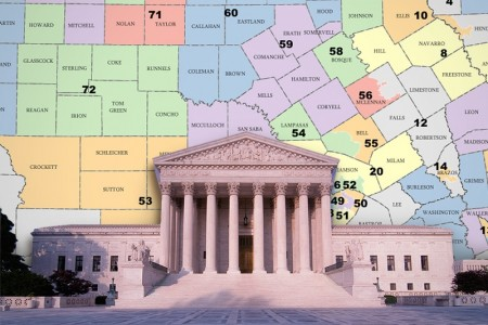 Texas graphic